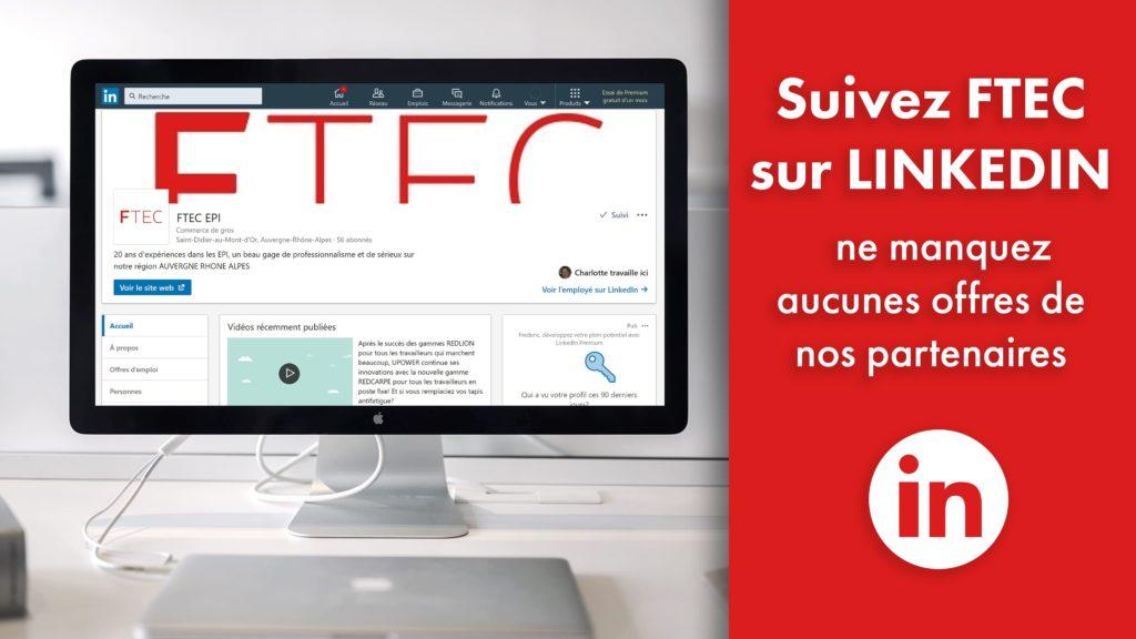 Suivez FTEC sur Linkedin